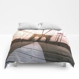 Brooklyn Bridge, New York City Comforters