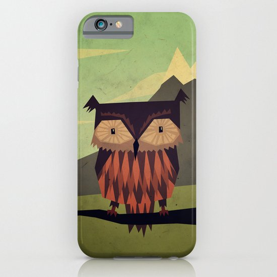 Owl iPhone & iPod Case