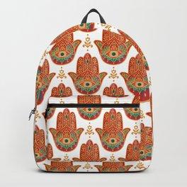 Summer Hamsa Backpack