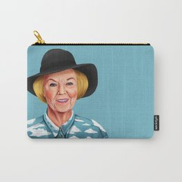 Hipstory - Queen Beatrix of the Netherlands Carry-All Pouch