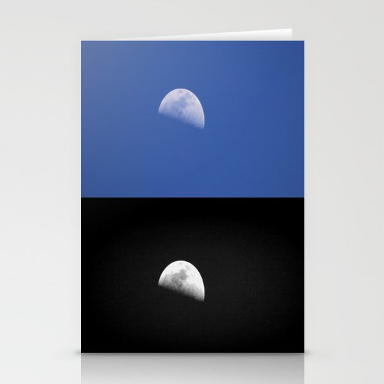 Day and Night Stationery Cards