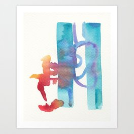 Boomb Art Print