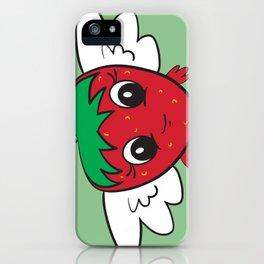 FlyBerry Kiddo Green iPhone Case