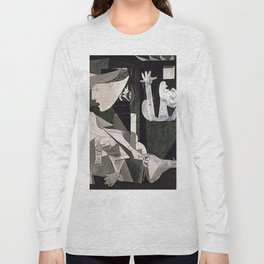 GUERNICA #2 - PABLO PICASSO Long Sleeve T-shirt