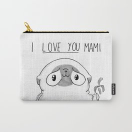 PUG Mochi - I love you mami Carry-All Pouch
