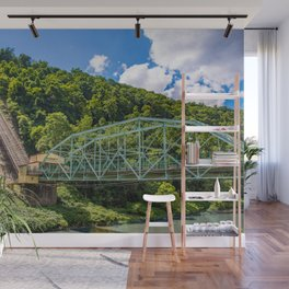 Johnstown, PA Inclined Plane Wall Mural