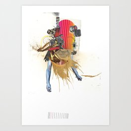 the Above - Minga Art Print