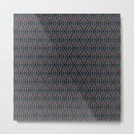Beautiful Pattern #25 Psychedelic Pattern Metal Print