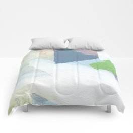 Square Fields Comforters