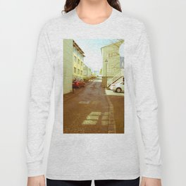 reykjavik street view Long Sleeve T-shirt