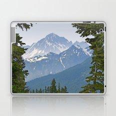 MOUNT LARRABEE FROM HEATHER MEADOWS Laptop & iPad Skin
