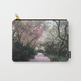 Pink Petal Pathways Carry-All Pouch