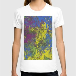 Clouded Judgement - Abstract Modern Painting T-shirt