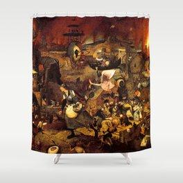 Mad Meg by Heironymus Bosch Shower Curtain