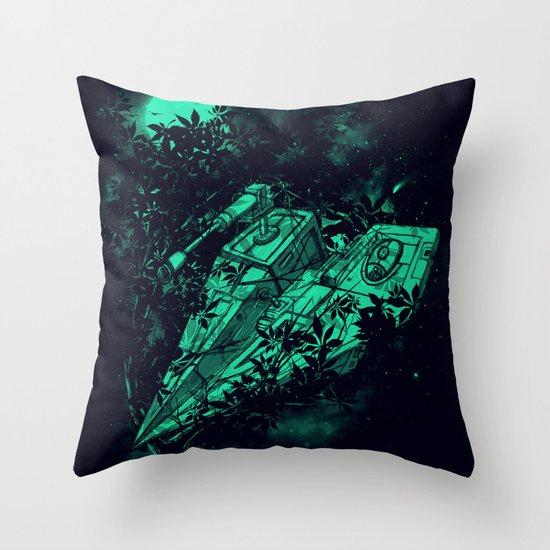 Emergency Landing Throw Pillow