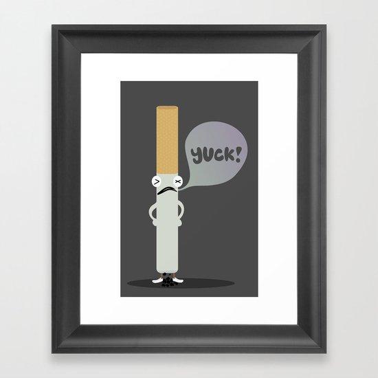 Cigarette Framed Art Print