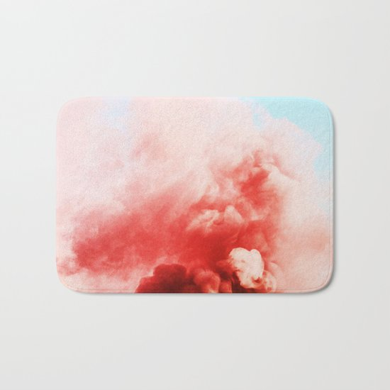 Candy Smoke #society6 #decor #buyart Bath Mat