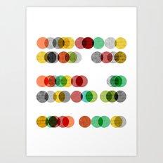 Abacus Art Print