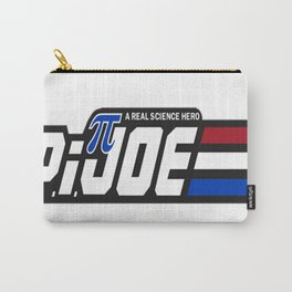 Pi Joe A Real Science Hero Carry-All Pouch