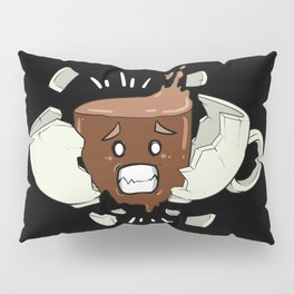 Coffee Shock - Funny Coffee Bean Gifts for Coffee Lovers Pillow Sham