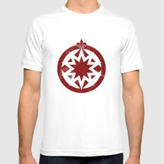 Heading North Mens Fitted Tee White SMALL