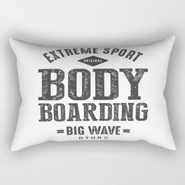 Bodyboarding Rectangular Pillow