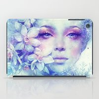 sale iPad Cases featuring December by Anna Dittmann