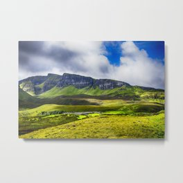 The Quiraing 3 Metal Print