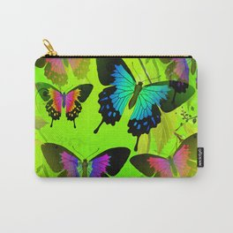 Painted Lady and Morph Butterflies Carry-All Pouch