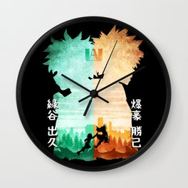 Minimalist Silhouette Rival Wall Clock