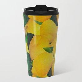 Old Gold Lemons Travel Mug