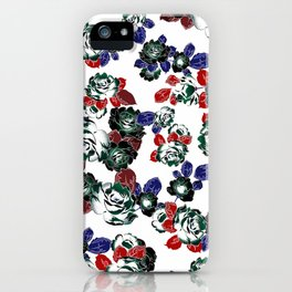 Cool Floral texture iPhone Case