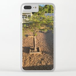 Playground Tree Clear iPhone Case