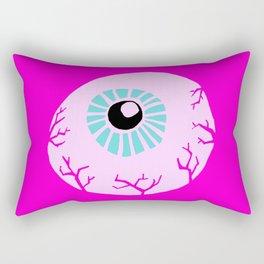 Pink Eye Rectangular Pillow