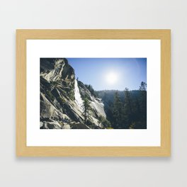 Yosemite Waterfall Framed Art Print
