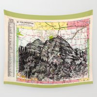 colorado Wall Tapestries featuring Colorado by Ursula Rodgers