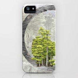 'Trees are sanctuaries' iPhone Case