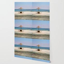 Seaside Bar Wallpaper