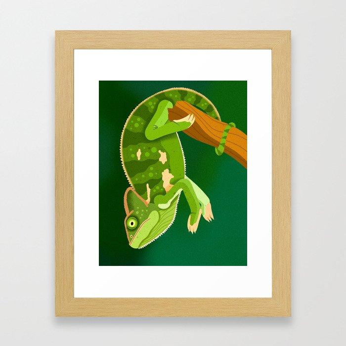 Chameleon Framed Art Print