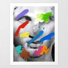 Composition 534 Art Print