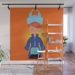 Le petit Mikel /Character & Art Toy design for fun Wall Mural