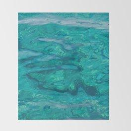 Mediterranean Water Throw Blanket