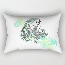 I dream of the sea Rectangular Pillow