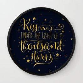 A Thousand Stars Wall Clock