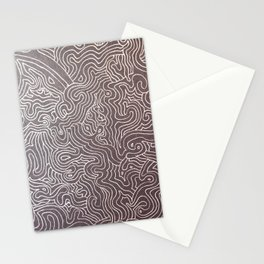 Melting eye Stationery Cards