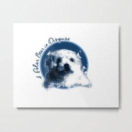 Definitely A Polar Bear Metal Print