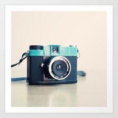 Film Camera Diana Mini  Art Print