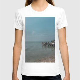 Italy in blue - Sirmione T-shirt
