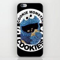cookies iPhone & iPod Skins featuring COOKIES! by SwanniePhotoArt