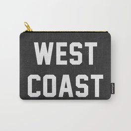 West Coast - black version Carry-All Pouch